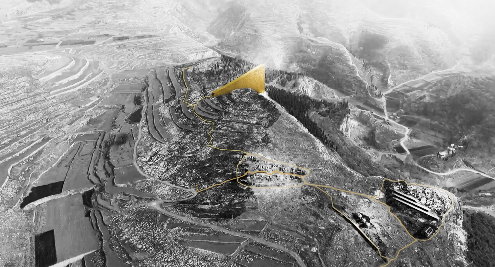 Mención de honor de Reviving Mines: Shandong Park Competition