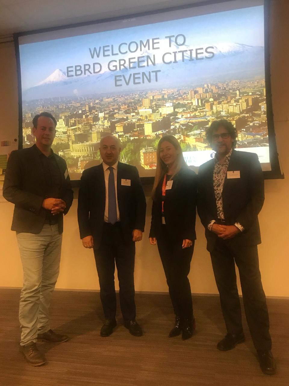 Green cities Event, European Bank for Reconstruction and Development, EBRD seminar